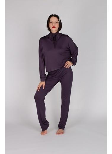 Hays Pijama Takım Mor